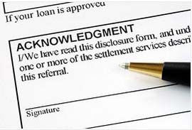 mortgage disclosures